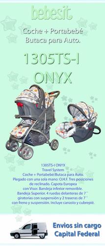 coche travel system huevito bebesit onyx 1305 envio s/cargo