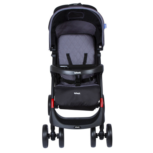coche travel system infanti pompeya elegance charcoal