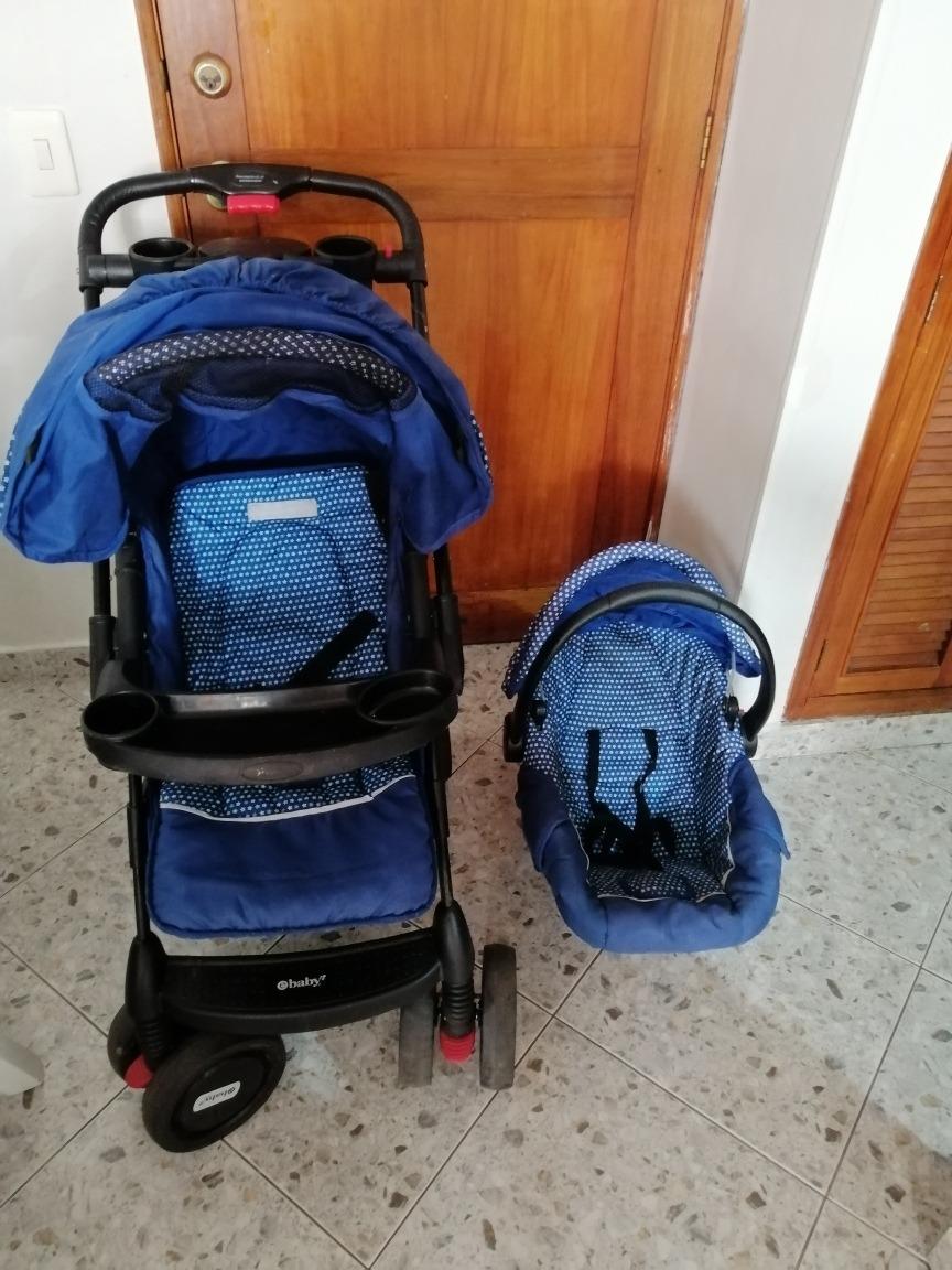 coche y porta bebe