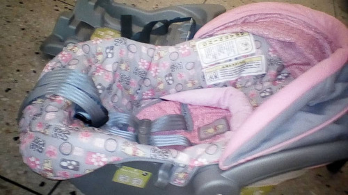 coche y portabebe duo para niña