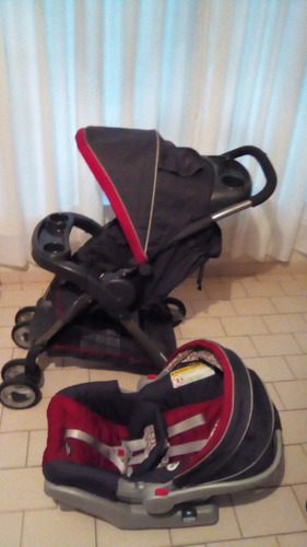 coche y silla para carro graco travel system (click connect)