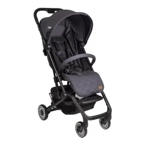 cochecito bebe compacto kiddy moon gris + bolso regalo