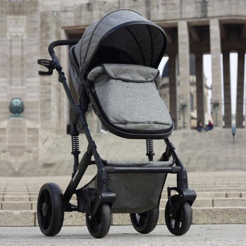 cochecito bebe convertible en moises cuna y asiento calidad premium cartan nuevo modelo seguro plegable con suspensión