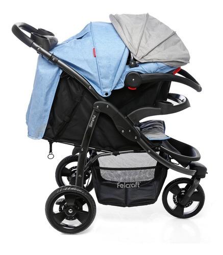 cochecito bebé felcraft jogger simply huevito con base