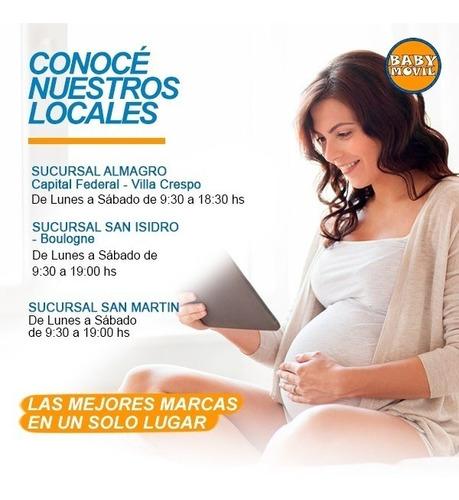 cochecito bebe huevito rebatible etna mega baby babymovil