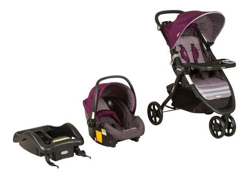 cochecito bebe infanti alpine 3 ruedas con huevito y base