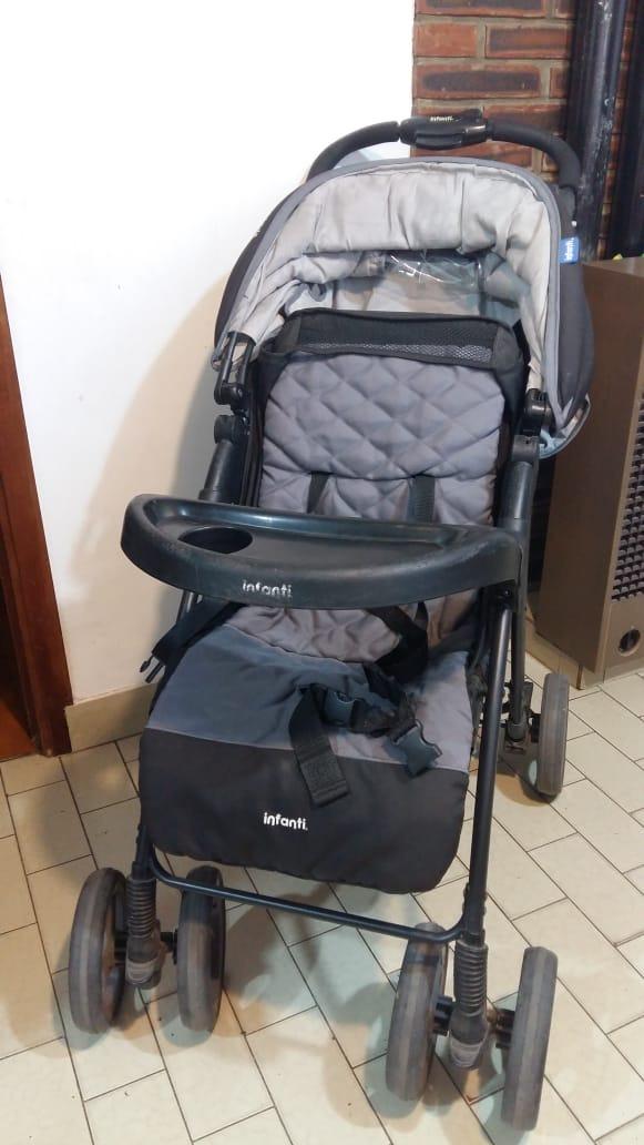 6460503a2 Cochecito Bebe Infanti E30 Con Huevito Para Auto - $ 2.900,00 en ...