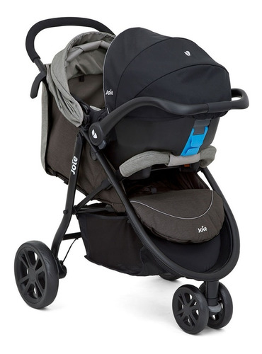 cochecito bebes con huevito 3 ruedas joie litetrax babymovil