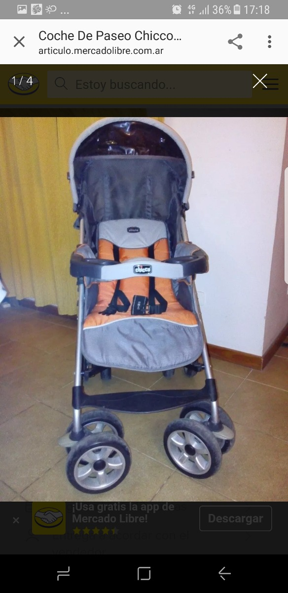 367077a40 Cochecito Chicco Modelo Trevi - $ 3.000,00 en Mercado Libre