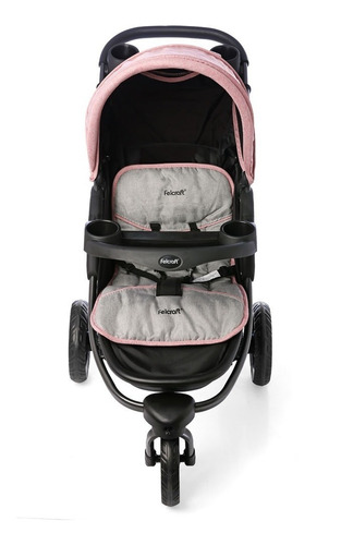 cochecito coche bebé jogger de 3 ruedas simply felcraft