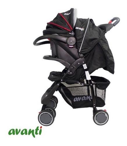 cochecito cuna bebé travel system avanti con huevito