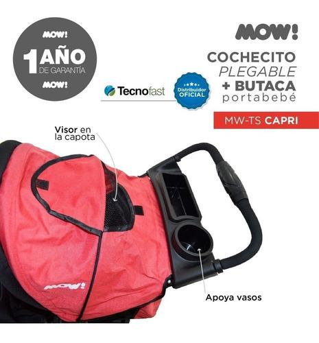 cochecito huevito travel system butaca auto  mow c/canasto