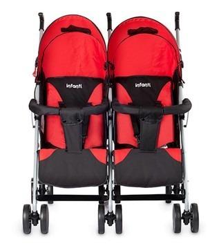 0f3e74fca Cochecito Mellizos Carrito Bebe Doble Infanti Mb109 Twin - $ 3.999 ...