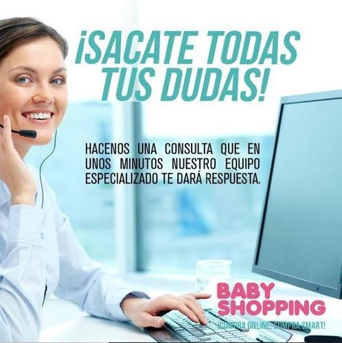 cochecito muñeca nena + huevito + practicuna baby shopping