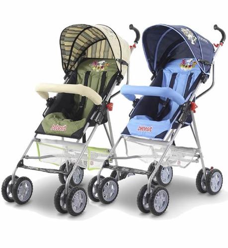 cochecito paraguita bebe buggy reclinable reforzado canasto