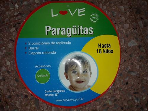 cochecito paraguita love repuesto o arreglo