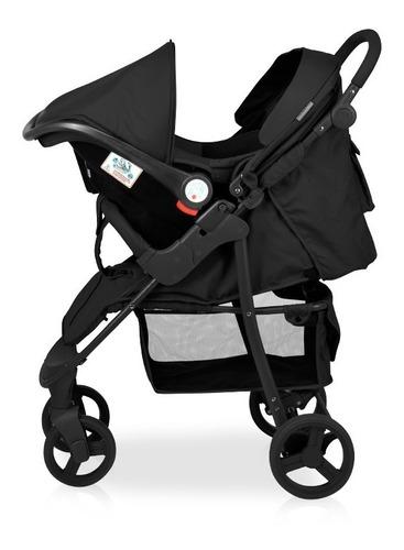cochecito travel system carestino negro con accesorios