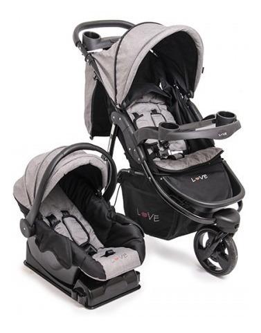 cochecitos bebe 3 ruedas love 245 huevito y base babymovil