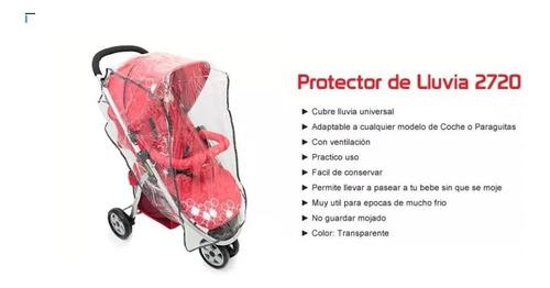 cochecitos bebe protector lluvia