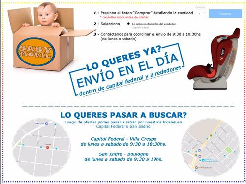 cochecitos bebes booklet  huevito 4-35 y base latch perego