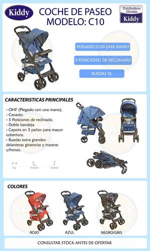 cochecitos bebes c10 kiddy ultraliviano babymovil cuotas