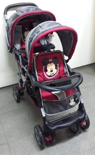cochecitos bebes hermanitos disney mickey 3304 babymovil