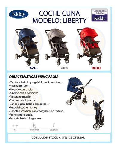 cochecitos bebes liberty kiddy manija rebatible compacto