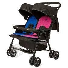 cochecitos bebes mellizos hermanitos infanti aire twin cuota