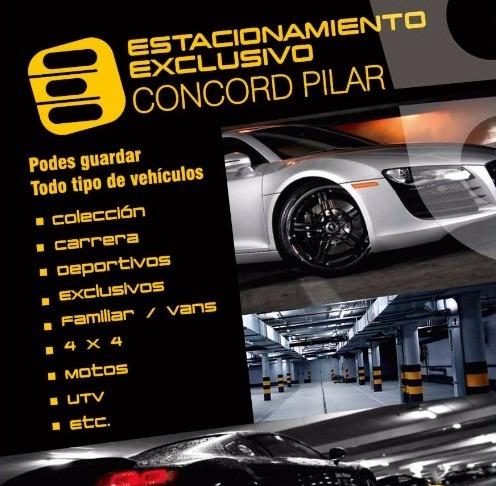 cochera alquiler concord pilar automotor coleccion antiguos