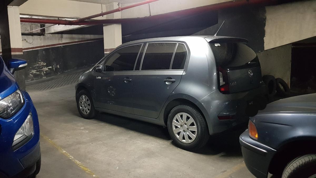 cochera cubierta 14,62 m2  2° subsuelo acepta pesos!! oport!
