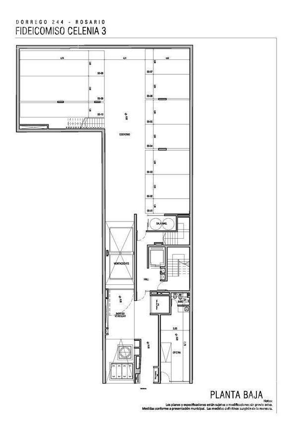 cochera || edificio celenia 4 || dorrego 244
