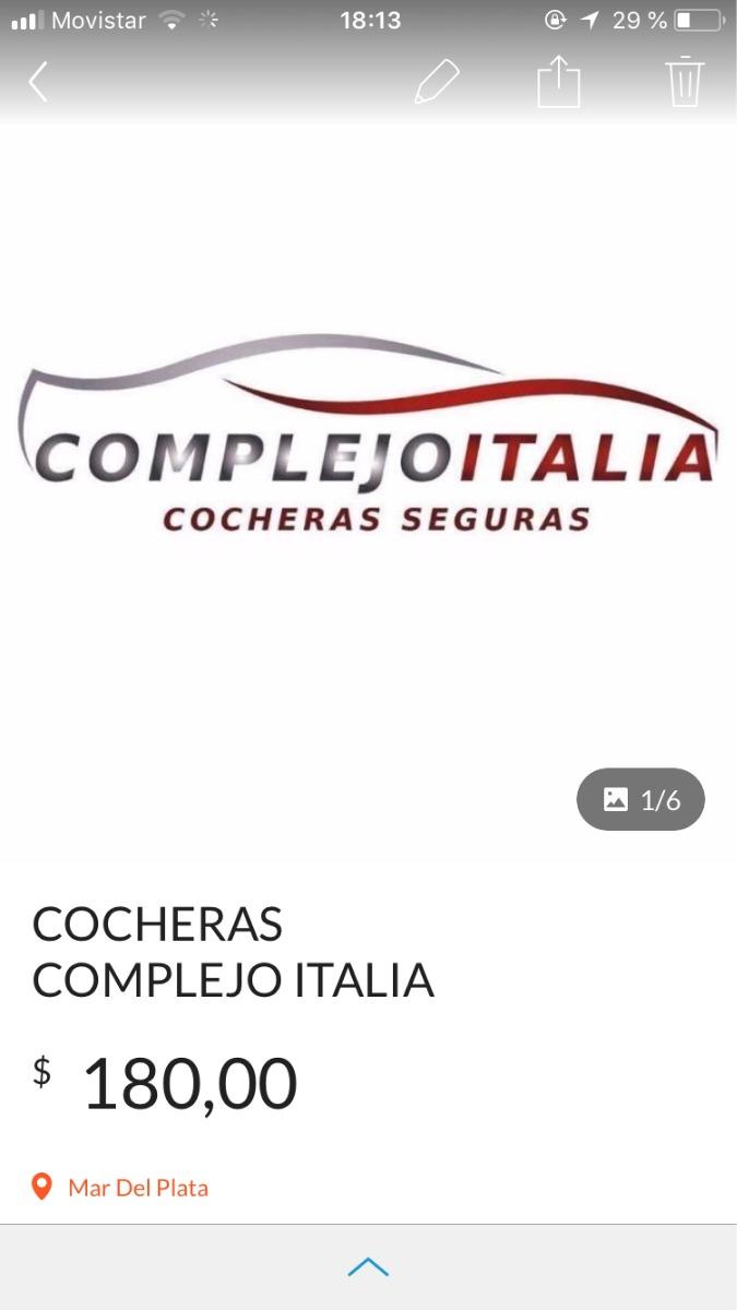 cocheras complejo italia 2