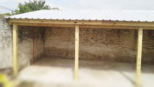 cocheras, quinchos, galerías, techos  prefabricados