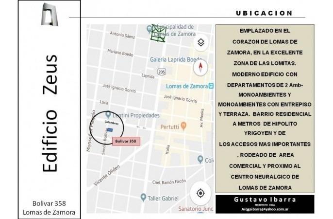 cocheras subsuelo oportunidad, ubicado en bolivar 358, lomas de zamora