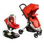 Coche Travel System Eclipse Rojo. Bebesit
