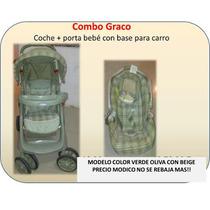 Combo Graco Coche/portabebe Unisex Con Base Para Carro