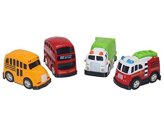 Camión Atrás Juguete Del Coches Hacia Paquete 4Tire De eYD9WHIE2