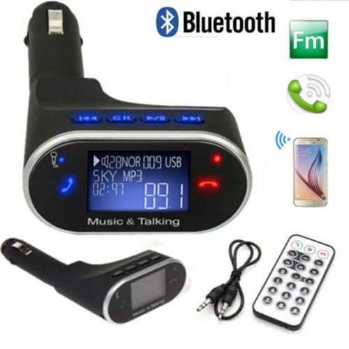 coches kit mp3 música reproductor inalámbrico bluetooth fm
