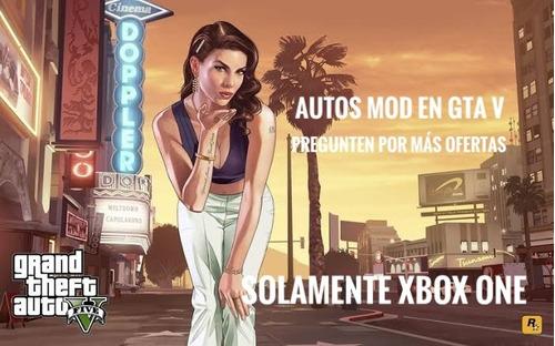 coches mod gta v xbox one