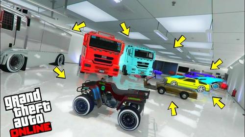 coches modeados para gta v online-xbox one