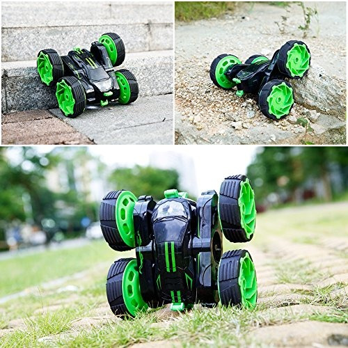 coches rc off-road, 4wd de control remoto monster truck gira
