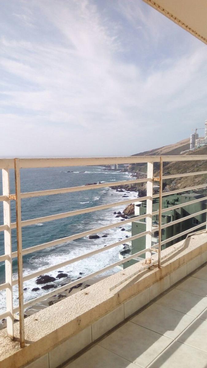 cochoa, excelente departamento , hermosa vista al mar