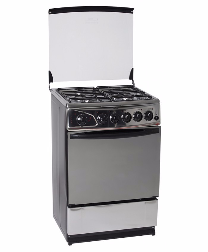 Cocina 4 hornallas a gas y horno electrico amplio gafa for Cocinas con horno electrico