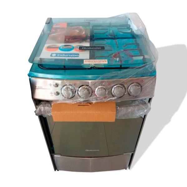 Cocina 4 hornillas a gas indurama bilbao bs for Cocina 02 hornillas