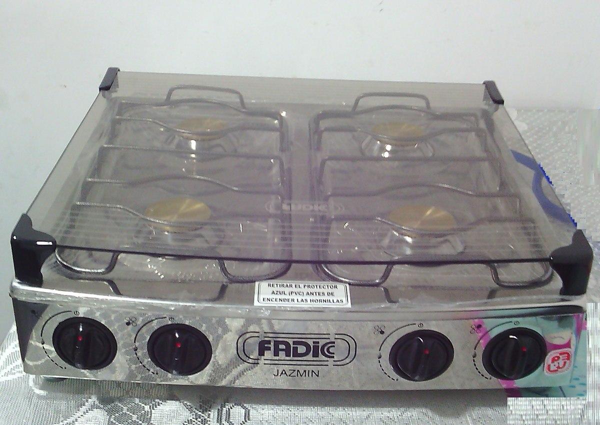 Cocina 4 hornillas a gas mesa tapa de vidrio s 150 00 - Precios de cocinas de gas ...