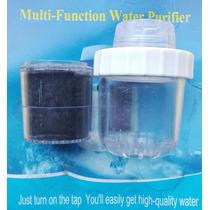 Purificador Filtro De Agua Con Carbon Activo Para Grifos