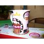 Tazas De Porcelana Con Diseño De Cupcake