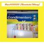 Cocina Herraje Condimentero Organizador 2 Niveles 10cm Ancho