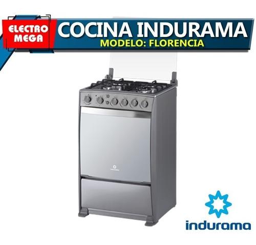 cocina a gas indurama 4 hornillas grill - asador florencia