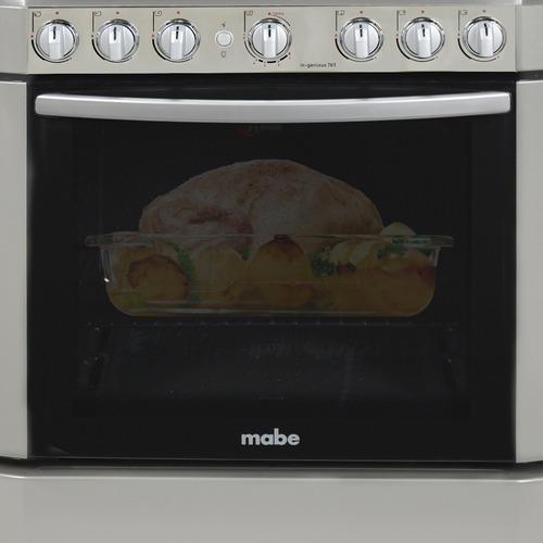 cocina a gas ingenious 76 cm grafito mabe incluido iva